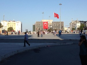 Taksim Square in the heart of Istanbul