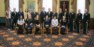 ALLIES meets with General McCrystal